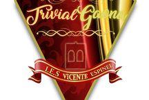 TRIVIAL GAONA / Trabajos de los alumnos/as para elegir un logotipo trivial