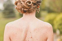 Wundervolle Brautfrisuren / Wunderschöne #Frisuren für die #Hochzeit #Brautfrisuren #Inspiration #BridalHair
