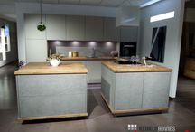Keukens / Voorbeelden van ons uitgebreide assortiment in keukens.