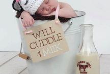 DIY newborn-todler baby props