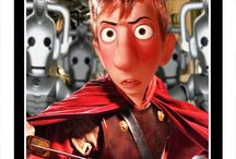 Doctor Who Pixar Style