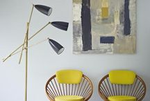 Mid Century Modern / Mid Century furniture and graphics