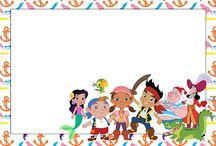 Festa: jake e os piratas na terra do nunca | 4 anos