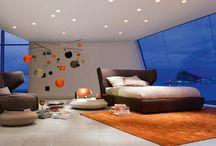Inspirierende Schlafzimmer Innendesign Von Roche Bobois