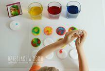 dzieci - zabawy kreatywne