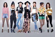 Sims lookbook