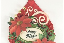 Antique Christmas Tags One