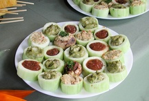 Canapes/party foods