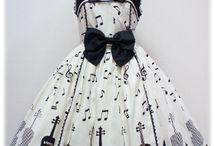 Music dresses