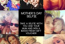 Mother's Day Selfie Campaign, Win $2000 / Fresh™ Fragrances & Cosmetics Mother's Day 2014 promotion is all about discovering beauty! We believe that to be beautiful all you need is to be happy with who you are. This Mother's Day we want you to show the world just how beauty & love shines through a mother and her daughter/son and what better way than with a selfie! Simply send us a selfie with your mum for you chance to win $2000 store credit. For more info go here > http://www.fragrancesandcosmetics.com.au/about-us/mothers-day-selfie