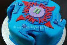 bay blade cakes