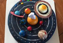 Solar system cake / Birthday