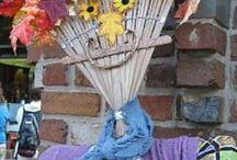 scarecrows / by Betty Ann Allen