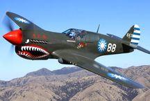 aviones de la segunda guerra
