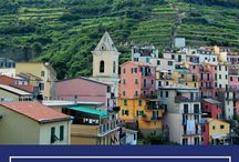 Cinque Terre, Italy / The incredible views of the Cinque Terre in the Italian Riviera.  Discover and enjoy your next adventure!