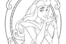 Kifestő - Disney - Csipkerózsika