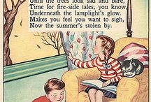 Retro Book Illustrations