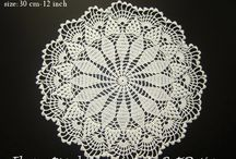 Crochet napkin table clothes handmade doily. / Hand crocheted napkin. Color: white Made from cotton 100%white  https://www.etsy.com/shop/BetiDesign