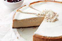 Cheesecakes / No bake cheesecakes, moussecakes, baked cheesecakes