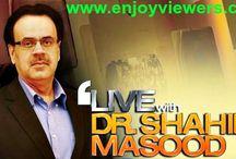 Dr Shahid Masood Talk Shows