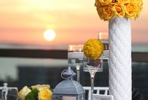 Yellow/Sunflower and Gray Wedding
