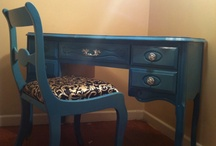 vintage furniture / by Suzanne Larose Yeremi