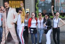 HRC Edinburgh - Freddie for a Day! / Staff at Hard Rock Edinburgh dusted down their catsuits and donning their fake moustaches to become Freddie For A Day on Thursday 5 September 2013 to raise funds and awareness for the Mercury Phoenix Trust and the fight against AIDS and HIV.
