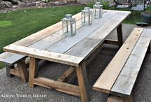 build garden furniture