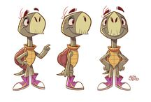 Character design - cold-blooded dudes