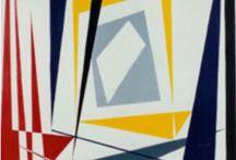 My Work - Geometric Constructivism Art Ria Groenhof