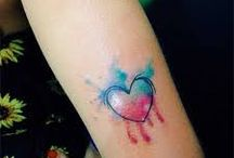 waterolor tatoo