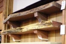 shelves and mantels