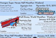 Plans for Disney Marathon / by Sloan Gray