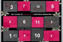 "CHRISTMAS MARKETING, FESTIVE, HOLIDAYS / Businesses can make up to 30% of their total profit in #Festive #Holiday season alone, find out how with 12 marketing tips..... ""12 Days of Creative Christmas Marketing"" Advent Calendar for you to play with at: http://www.thecreativebusinesscoach.com/adventcalendar2.html.   Enjoy :-) / by Creative Business Coach™"