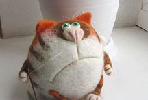 Funy felted