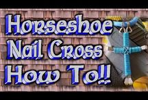 horseshoe cross ideas and videos