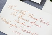 LPCo. Calligraphy / Handwritten Calligraphy by Lowcountry Paper Co.