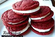 red vrlvet sandwhich cookie