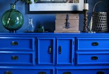 Cobalt & Royal Blue