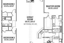 House plans / by Macey Sherwood Moon