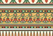 egyptian patterns