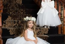 Little Ones / Flower girls and boys, junior bridesmaids, page boys, train and ring bearers.