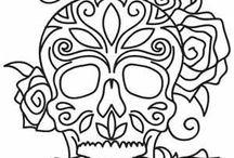 Skull Quilt
