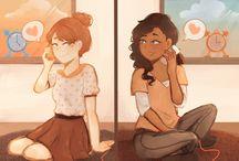 Friends fangirls
