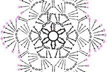 コースター 編み図