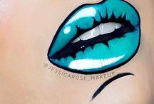 lip art makeup