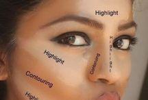 Maquillaje correcciones del rostro