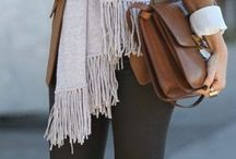 Bundle Up / Deliciously cozy attire for those Fall/Winter chilly days.