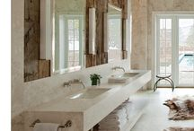Natural Interior Design (Bathroom)