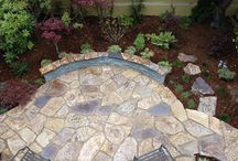 Patios and Pathways / patios and pathways, design and installed by Janet Moyer Landscaping